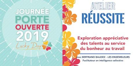 Atelier Réussite - Exploration appréciative des talents tickets