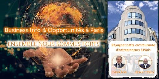 Business Info & Opportunités à Paris (14h00)
