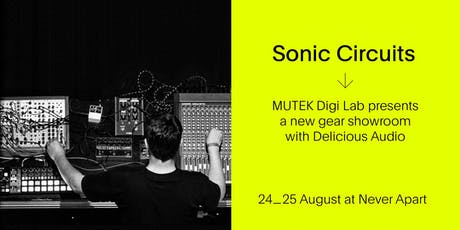 Sonic Circuits / SYNTHS Gear Showroom - MUTEK20 billets