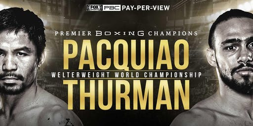 Manny Pacquiao vs. Keith Thurman July 20th at Walters