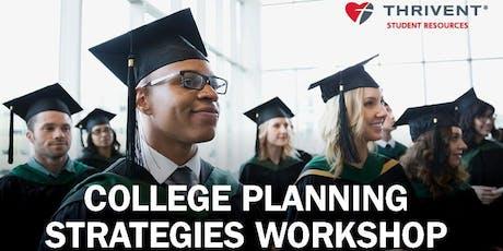 College Planning Strategies (Spokane) tickets