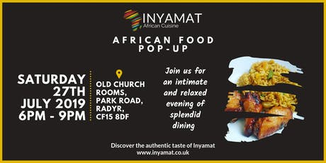 Inyamat | African Food Pop-up tickets