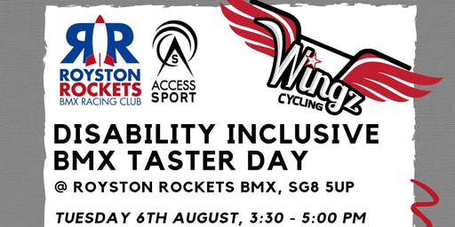 Royston Disability Inclusive BMX Taster Day