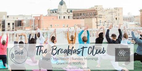 The Breakfast Club - Morning Yoga + Meditation tickets
