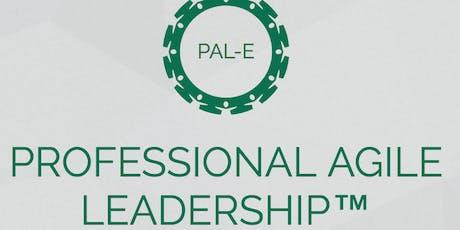 Official Scrum.org Professional Agile Leadership Essentials plus bonus exec content by John Coleman tickets