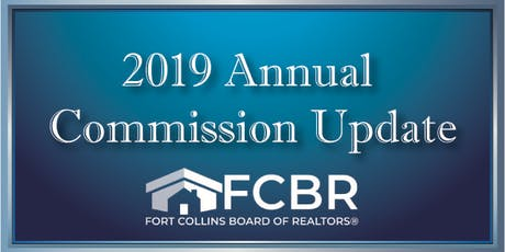 2019 Annual Commission Update - August 13 tickets