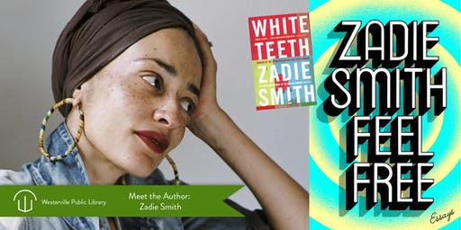 Zadie Smith: Author Visit: Thursday, September 19, 2019