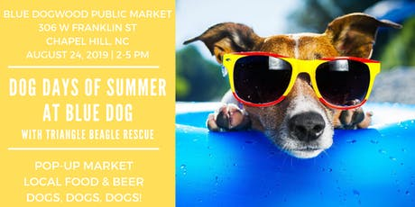 Dog Days of Summer at Blue Dog tickets