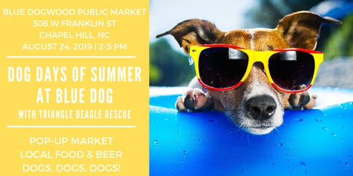Dog Days of Summer at Blue Dog