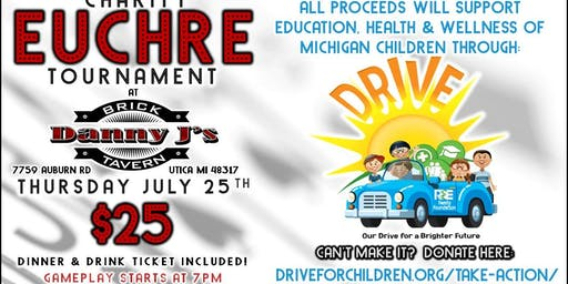 DRIVE Charity Euchre Tournament