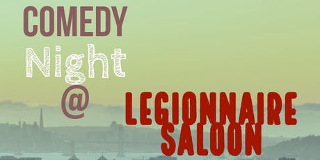 Comedy Thursday at the Legionnaire!  tickets