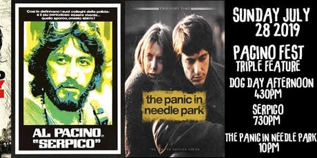 PacinoFest: Dog Day Afternoo /Serpico /The Panic in Needle Park tickets