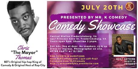 "Comedy Night w/ Chris ""The Mayor"" Thomas tickets"