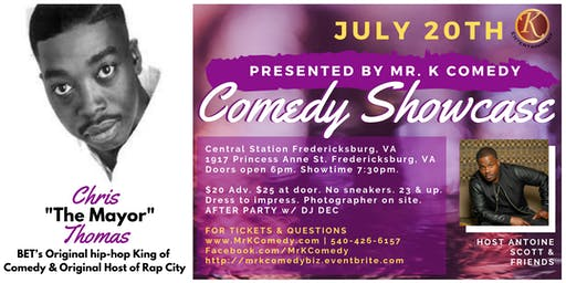 "Comedy Night w/ Chris ""The Mayor"" Thomas"