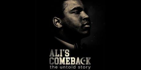 Ali's Comeback: The Untold Story - ADIFF DC Opening Night Film! tickets