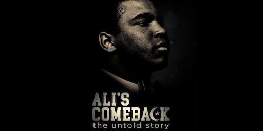 Ali's Comeback: The Untold Story - ADIFF DC Opening Night Film!