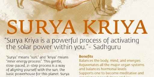 Surya Kriya Hatha Yoga Program