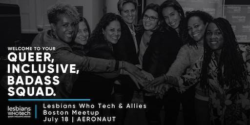 Lesbians Who Tech & Allies Boston Meet Up