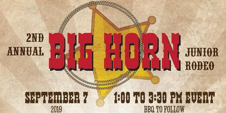 Big Horn Junior Rodeo tickets