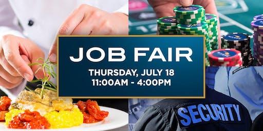 Rivers Casino Job Fair (July 18: 11am-4pm)