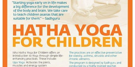 Children's Hatha Yoga Program