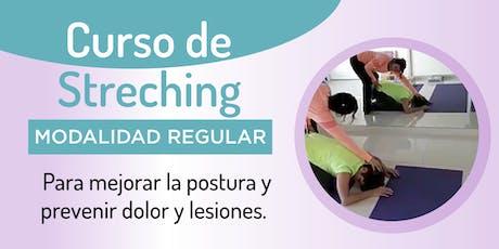 Curso de Streching para mejorar la postura y prevenir dolor y lesiones. entradas