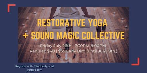 Restorative Yoga + Sound Magic Collective