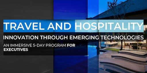 Travel and Hospitality Innovation Through Emerging Technologies | September Program