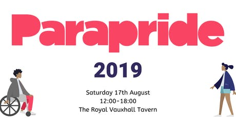ParaPride 2019 tickets