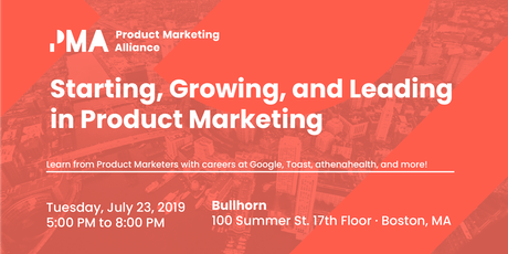 Starting, Growing, and Leading in Product Marketing tickets