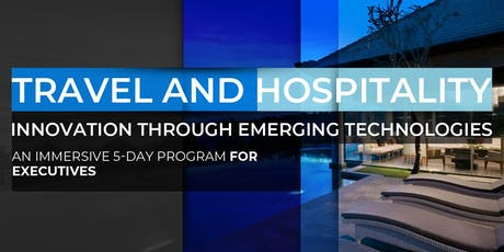 Travel and Hospitality Innovation Through Emerging Technologies | April Program tickets