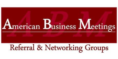 Networking Lunch (ABM Hyattsville Chapter) tickets