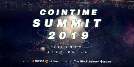 COINTIME SUMMIT 2019 tickets