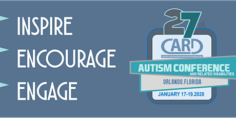 27th Annual Florida Statewide Autism Conference - CARD tickets