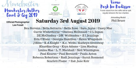 Manchester Author Event & Gig 2019 tickets