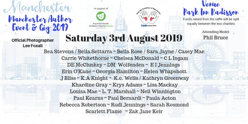 Manchester Author Event & Gig 2019