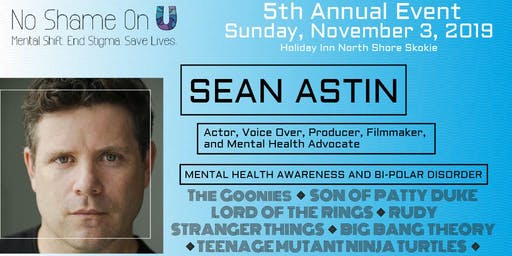 No Shame On U 5th Annual Event feat. Sean Astin