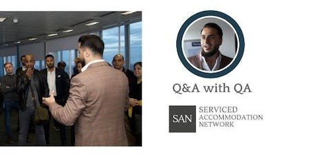 Serviced Accommodation Network Birmingham - Property Networking & Panel Event - Q&A with QA tickets