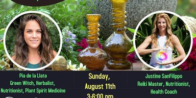 Reiki Infused Herbal Medicine-Making and Meditation
