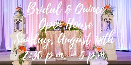 Free Bridal and Quinceañera Open House Expo in Upland, CA tickets