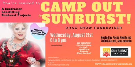 Camp Out For Sunburst Projects Fundraiser tickets