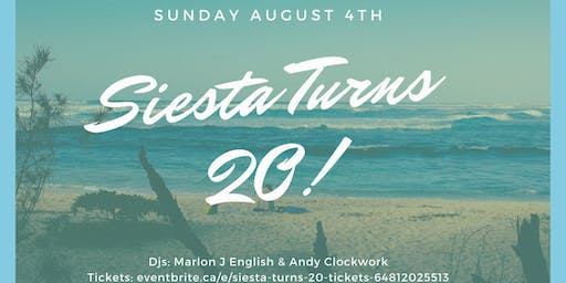 SIESTA TURNS 20
