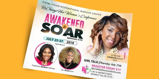 RECHARGEHer - WOMEN'S CONFERENCE - SUMMER EDITION