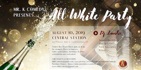 All White Party w/ DJ Lunatic tickets