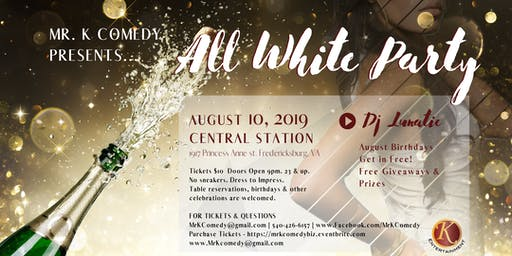 All White Party w/ DJ Lunatic