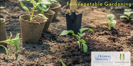 Fall Vegetable Gardening with Urban Harvest tickets