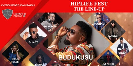 HIPLIFE FEST (AFROBEATS FESTIVAL)  tickets