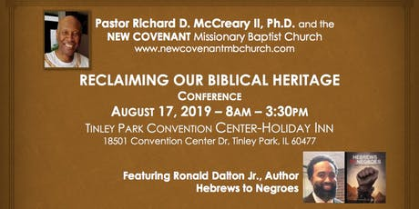 Reclaiming Our Biblical Heritage Conference tickets