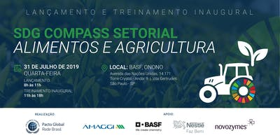 Lançamento  SDG Compass Alimentos e Agricultura