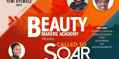 Beauty Makers Academy Conference 2019- Called to Soar tickets